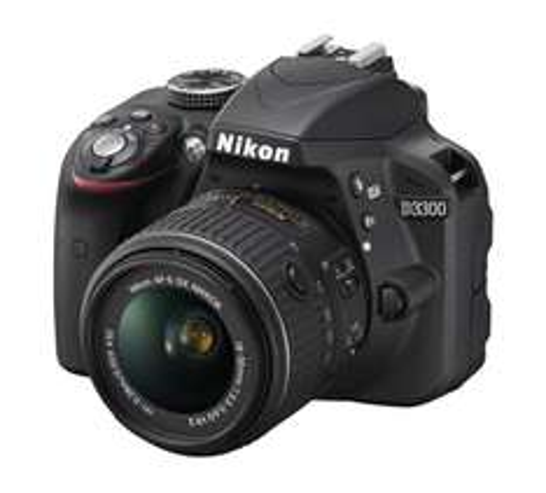 Amazon: Cámara Nikon D3300 $5,999
