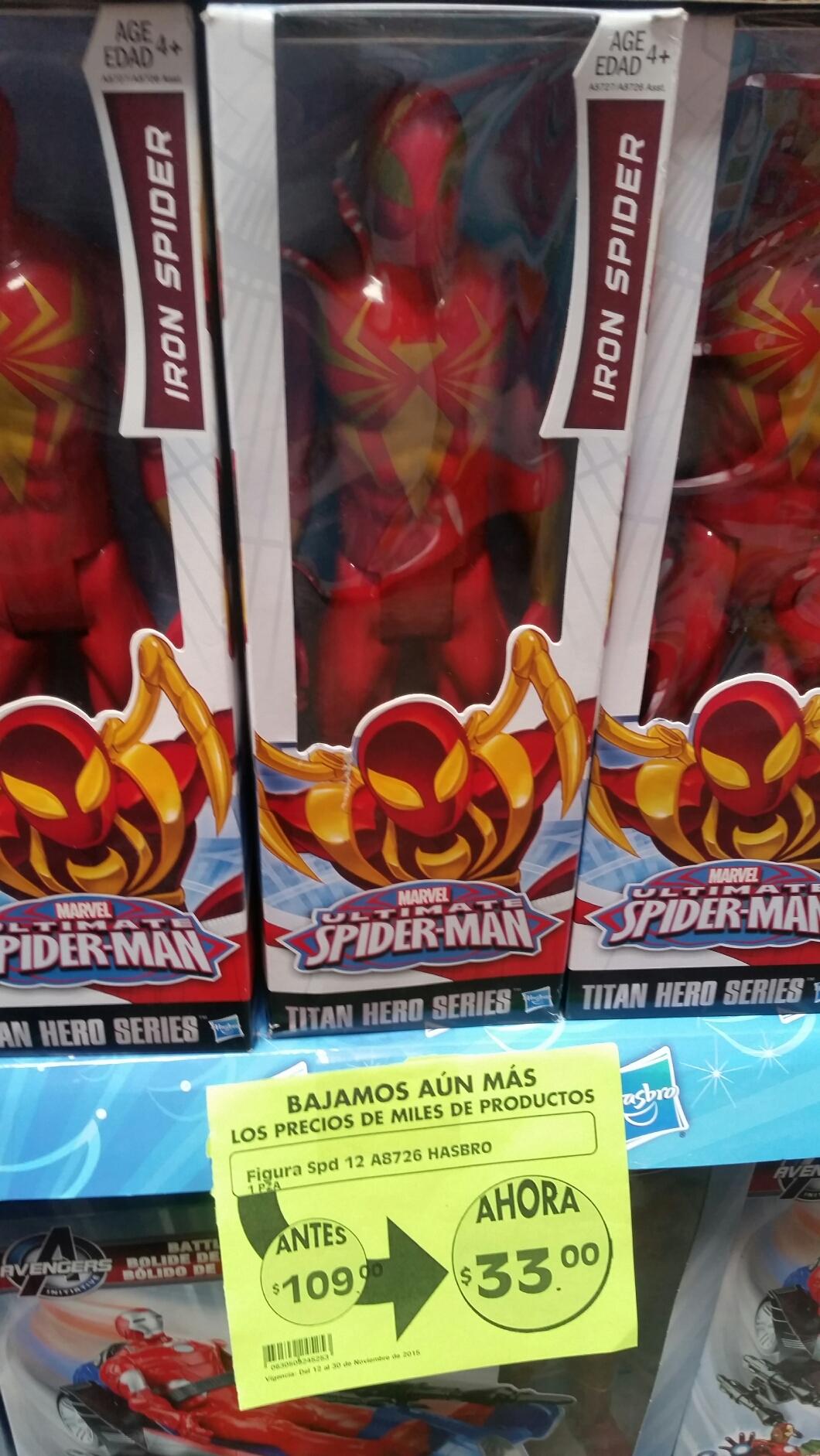La Comer: spider man $33
