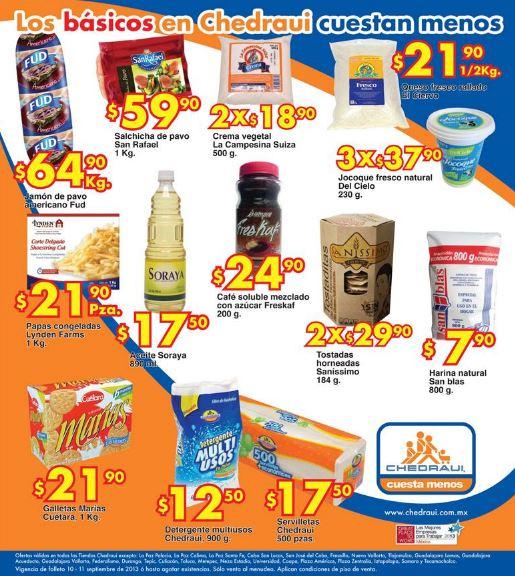 Ofertas de frutas en Chedraui septiembre 10 y 11: aguacate $19.50 y más