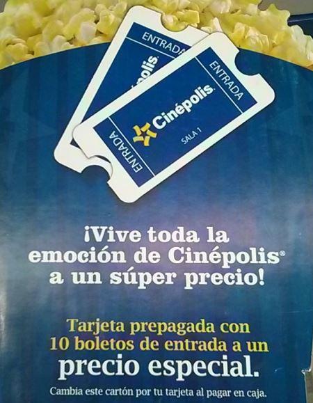 Costco: 10 boletos para Cinépolis o 4 para Cinépolis VIP $379