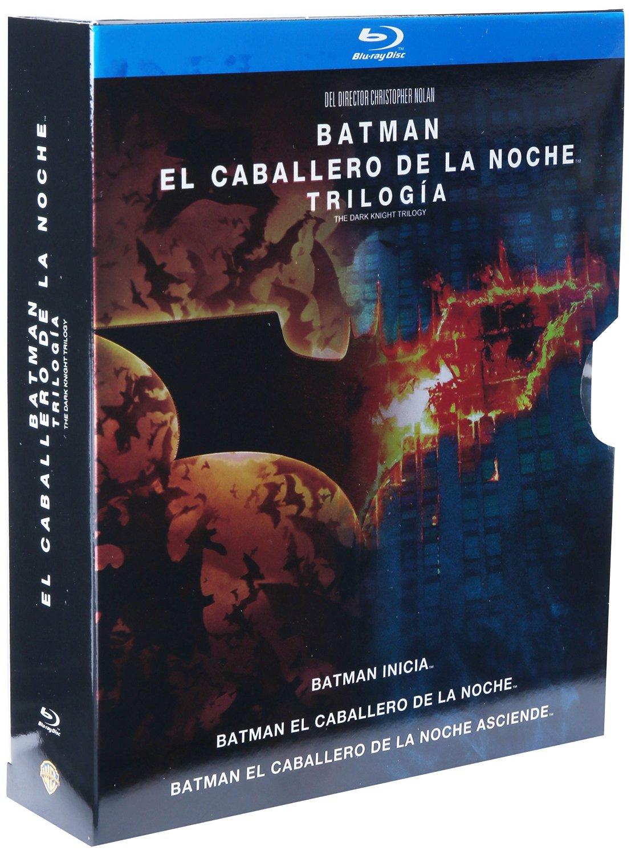 AMAZON MX Trilogía Batman el Caballero de la Noche [Blu-ray]