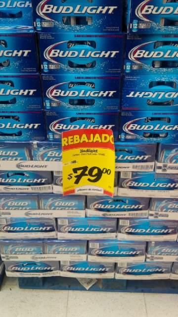 HEB 12 pack cerveza Bud Light o Coors