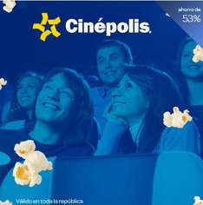 ClikcOnero: boleto para Cinépolis $31