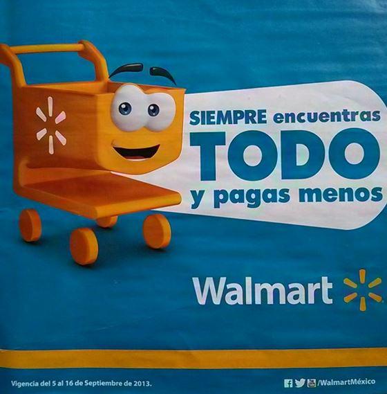 Folleto Walmart del 5 al 16 de septiembre