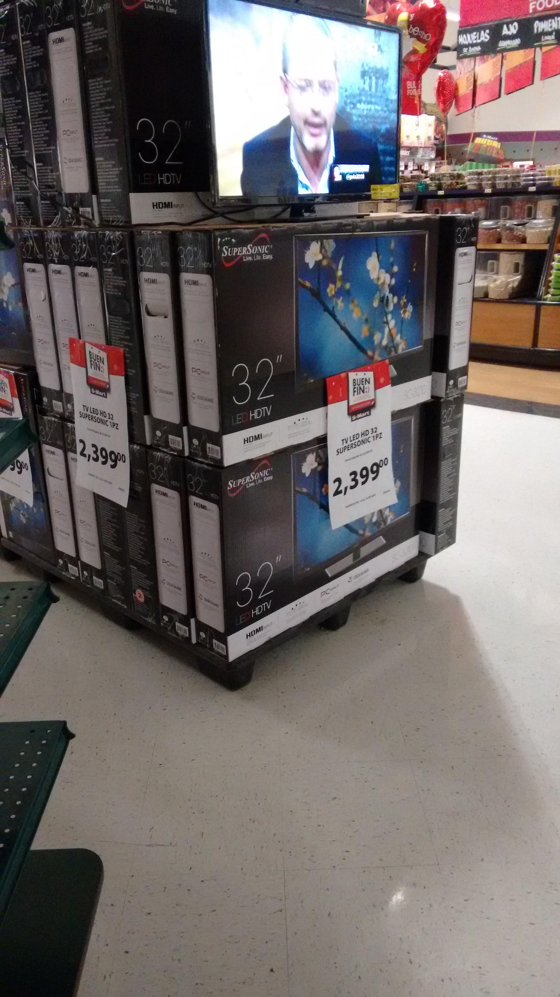Tienda Smart: Television HD LED 32 Pulgadas