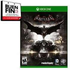 Sanborns online Batman Arkham Knight Xbox One y PS4