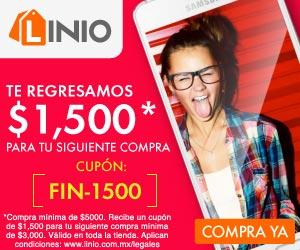 El Buen Fin en Linio: $1,500 de cashback en compras de $5,000