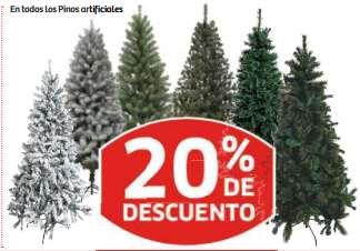 Soriana: 20% de descuento en pinos artificiales, cartera huevos $40 y pollo enterp $20/Kg