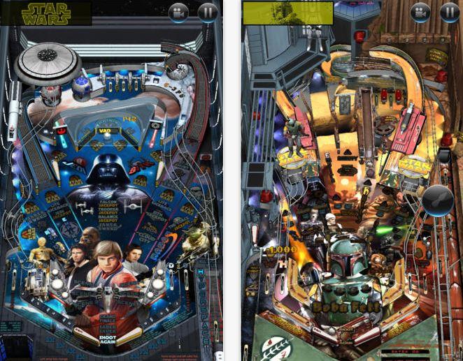 Juegos iPhone: Star Wars Pinball gratis y juegos de Street Fighter $13