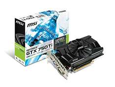 Amazon: tarjeta Geforce 750 Ti 2 GB GDDR5 OC