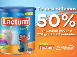 Cupones Chedraui: descuento en leche en polvo infantil Lactum, Pinol, Pert, Dial y más