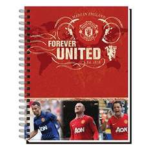 Office Depot Online: Cuaderno del Manchester United a 40 centavos.