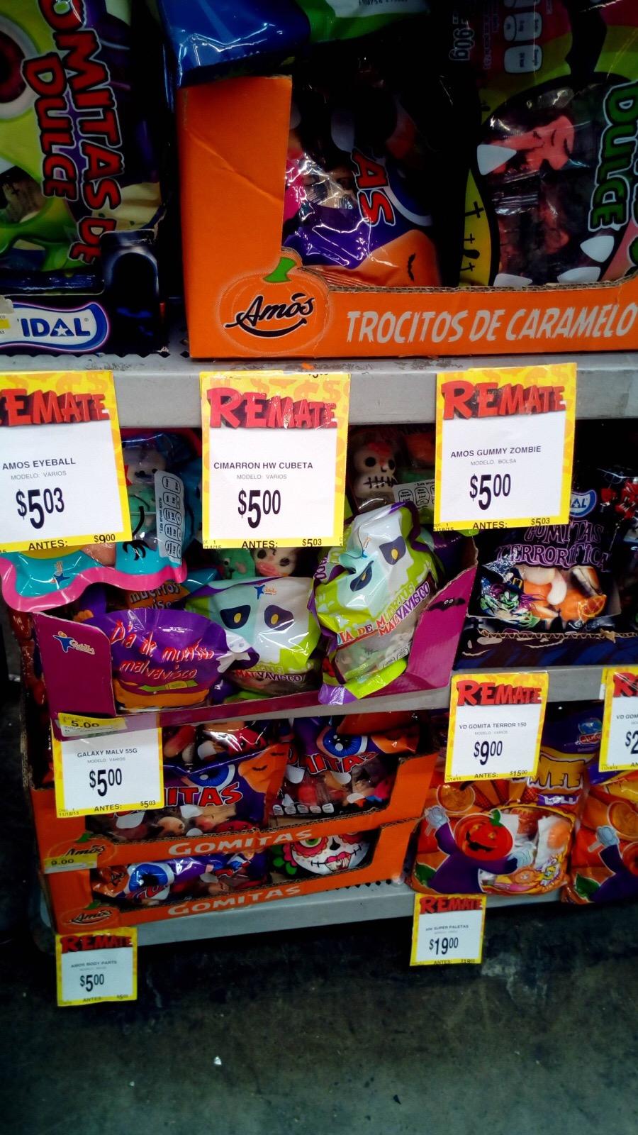 Bodega Aurrerá: liquidación de dulces de Halloween