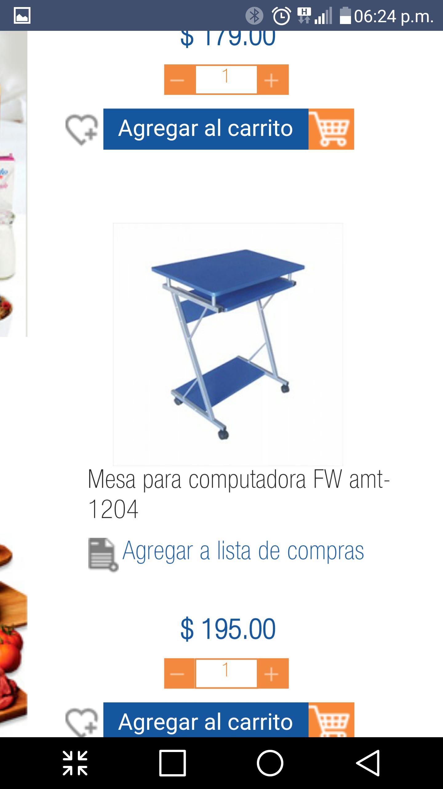 Chedraui Eduardo Molina: mesa para computadora a $195