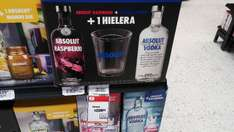 Chedraui Villahermosa: Paquete Absolut 2 botellas de 750ml + Hielera $226