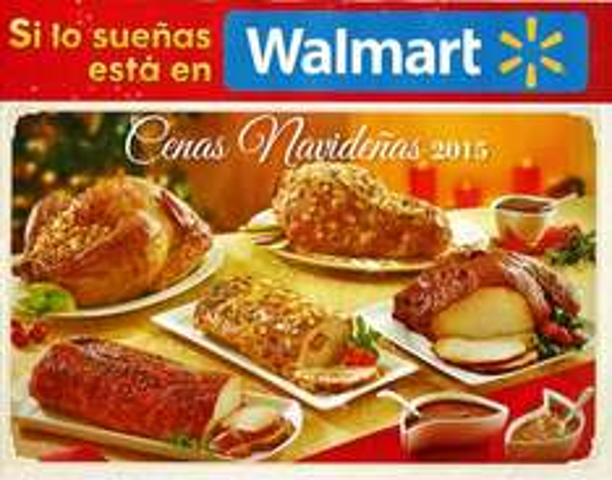 Walmart: Cenas Navideñas 2015