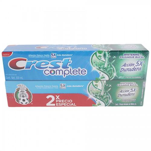 CHEDRAUI NORTE TAMPICO: 2 cremas dentales de 100ml cada una
