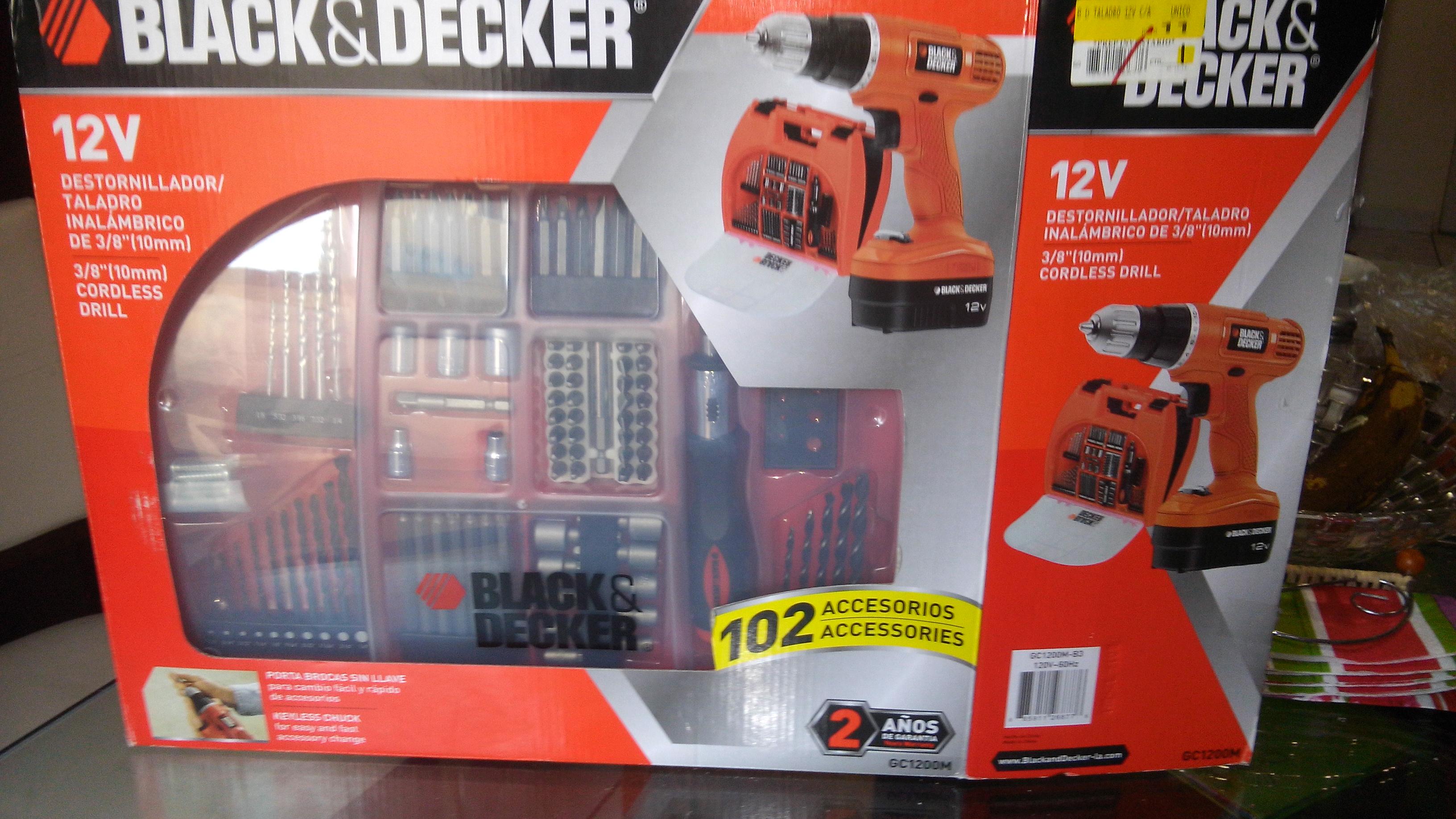 Walmart: Taladro / Destornillador Black & Decker $90.01