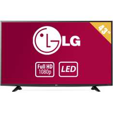 Walmart: TV LG 43 Pulgadas 1080p Full HD LED Mod. 43LF5100