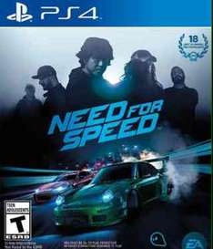 Amazon: Need for Speed para Playstation 4 a $668