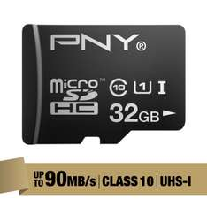 Amazon Mx: Micro Sd 32gb Clase 10 marca PNY o Sd Samsung. De 64gb a $284