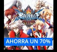 Steam y PSN: Blazblue chrono phantasma Ps4, ps3, ps vita