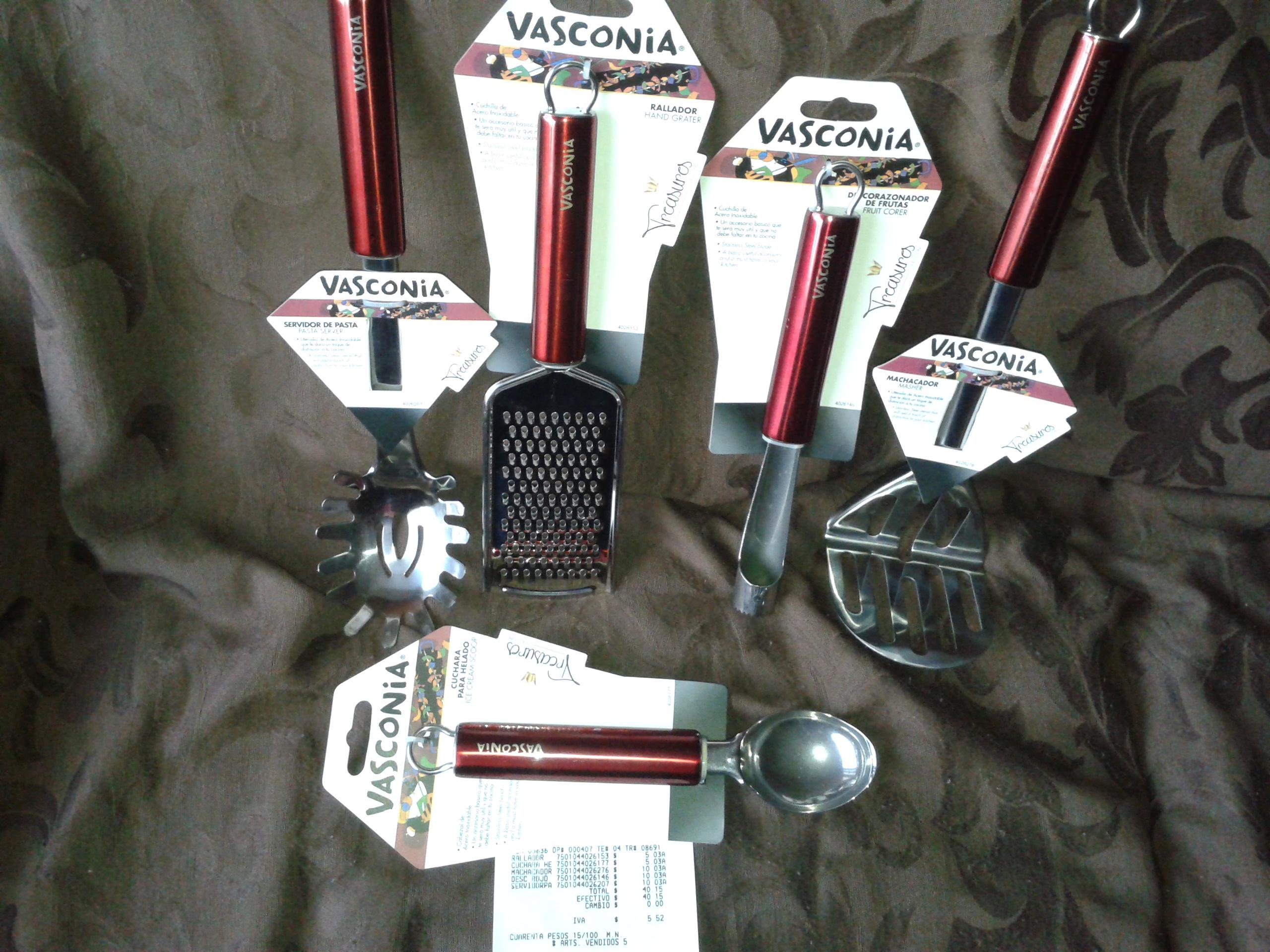 Superama: utensilios de cocina Vasconia a $5.03 y $10.03