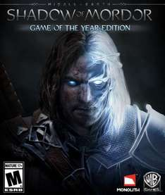 G2A.com STEAM - Shadow of Mordor Game of the Year Edition