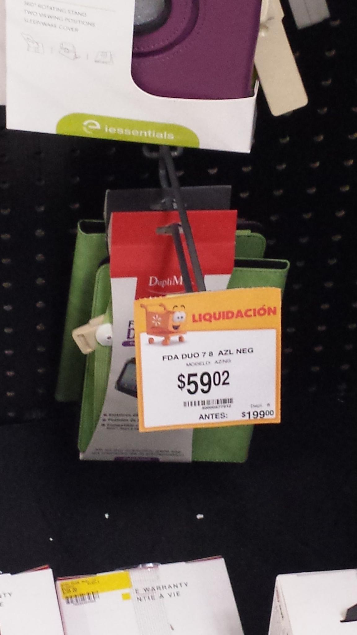 Walmart - Funda DupliMax para tablet 59.02