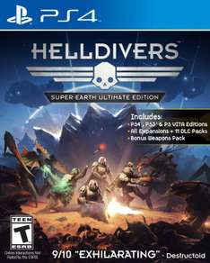 Amazon MX Juegos PS4: Helldivers Super Earth Edition $251 - Metal Gear Solid V $585 - AC Syndicate Gold $ 979, Shadow of Mordor $501 y más