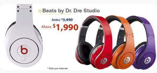 Walmart: audífonos Beats $1,990, Laptop Toshiba i7 con 8GB RAM y blu-ray $10,990 y más