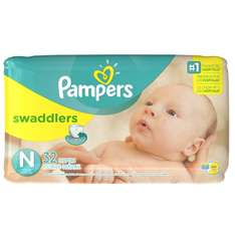 Amazon oferta del día: Pampers Swaddlers Pañal Desechable, Talla Recién Nacido, 32 Unidades