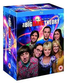 Amazon UK: The Big Bang Theory temporadas 1 a 8 blu-ray 29 libras hasta México