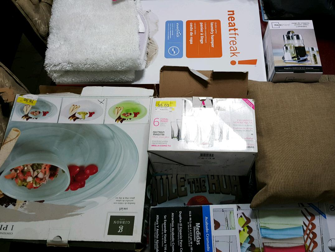 Walmart Caucel Mérida: Cojines decorativos $65.02, organizador de Closet 2 niveles $99.03 y más