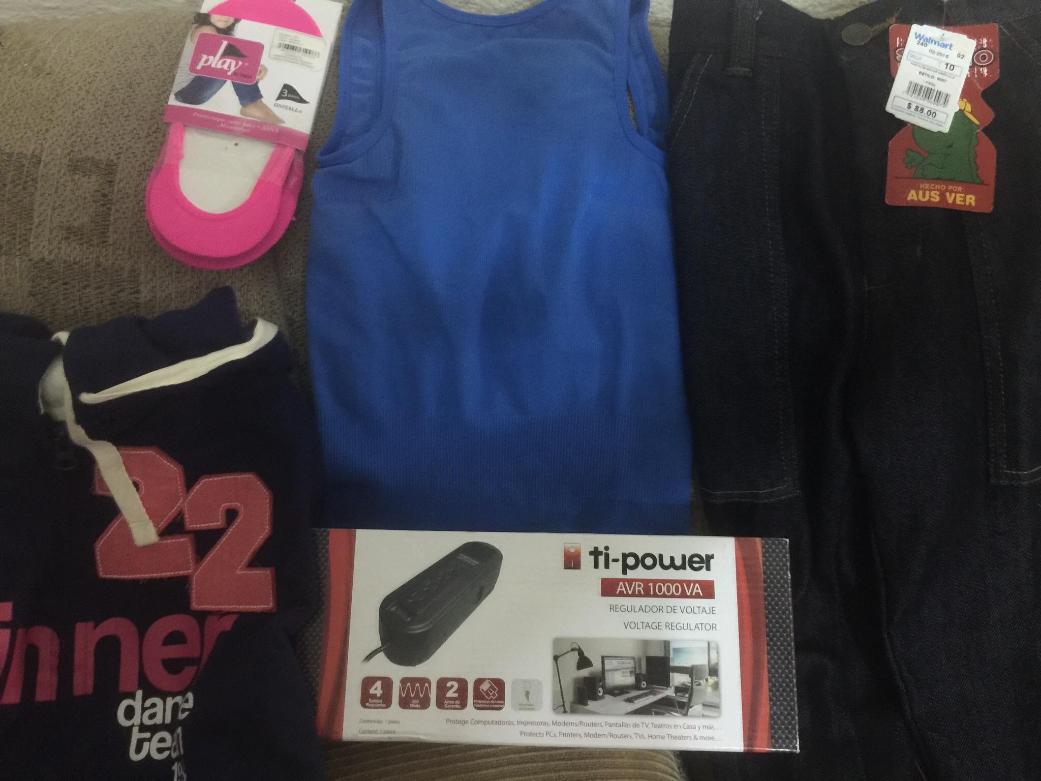 Walmart: Sudadera $90.02 Regulador $19.04 y pantalón de niño $0.01