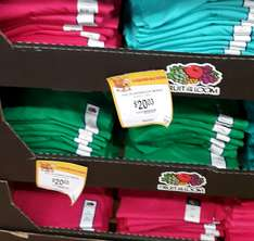 Walmart Periodistas DF: Playeras para dama Fruit of the loom $20.03