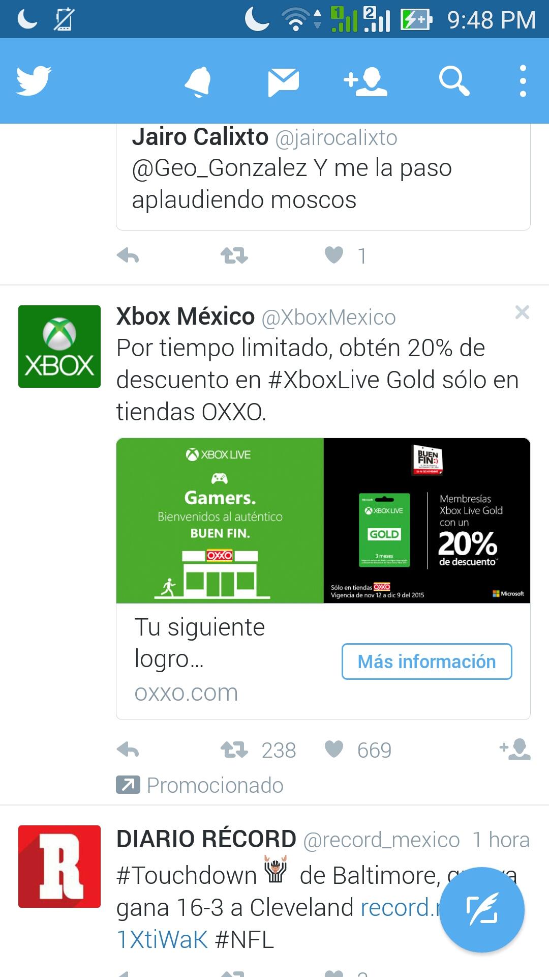 Oxxo: 20% de descuento en tarjetas Xbox Live