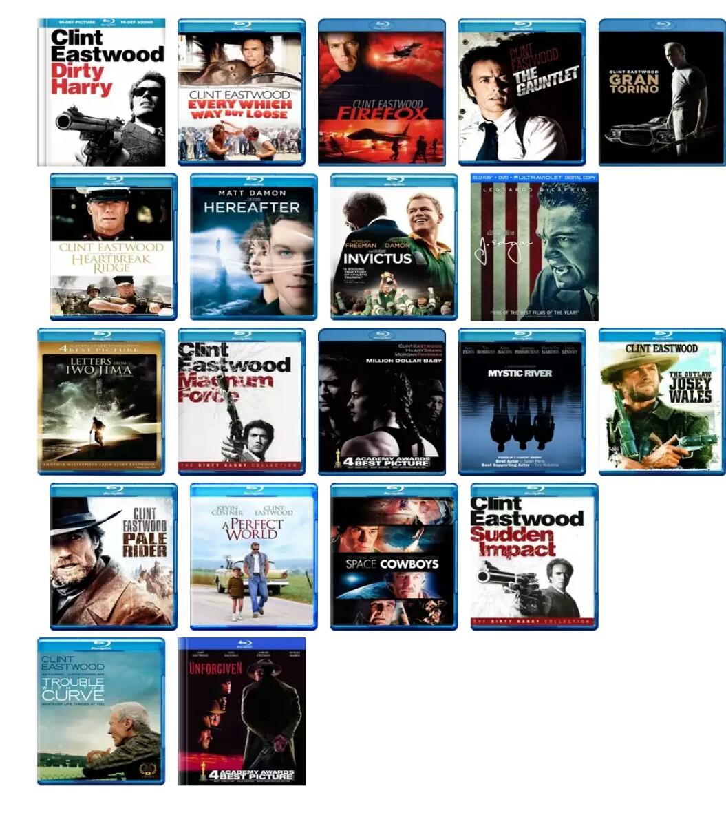 Colección 20 películas de Clint Eastwood en Amazon