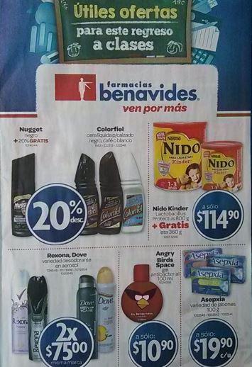 Folleto Farmacias Benavides del 16 al 29 de agosto de 2013