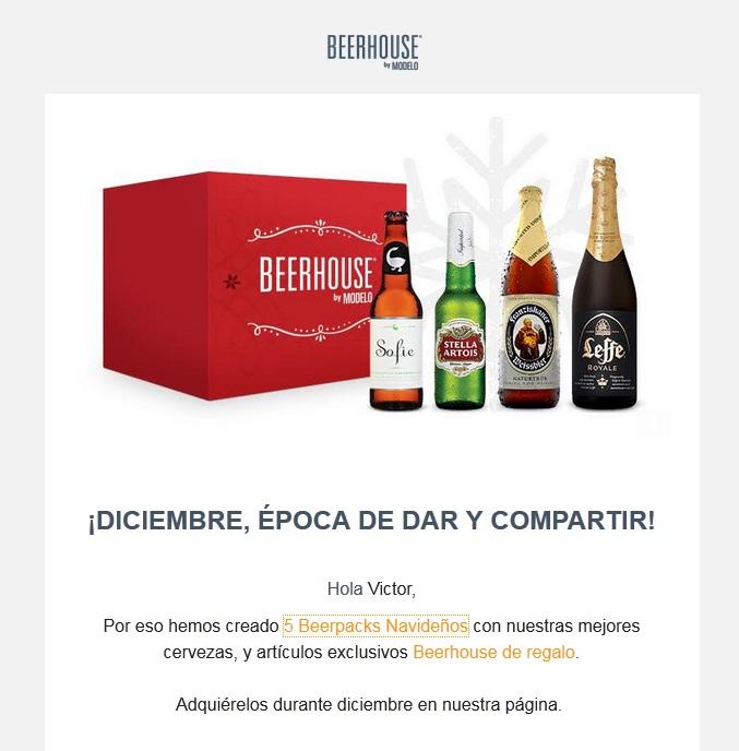 Beerhouse, paquetes navideños!!!