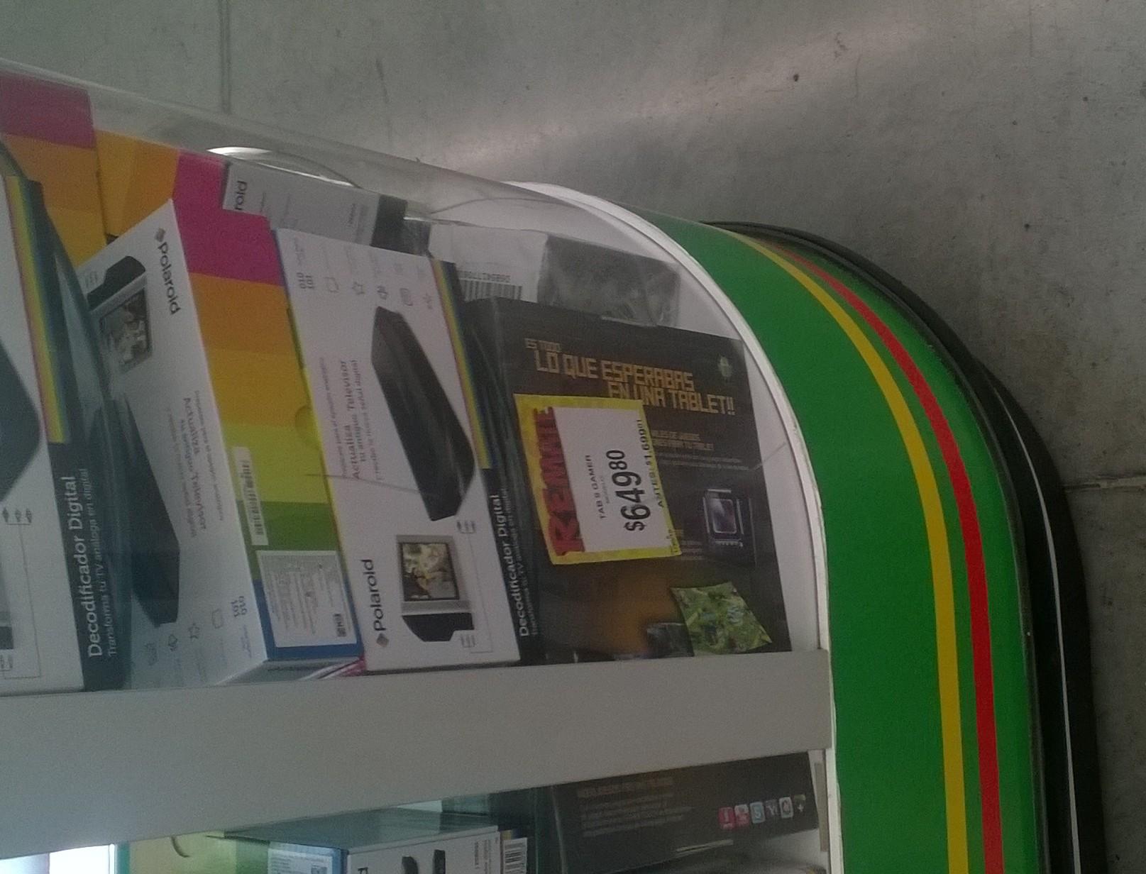 Bodega Aurrerá: tablet gamer a $649