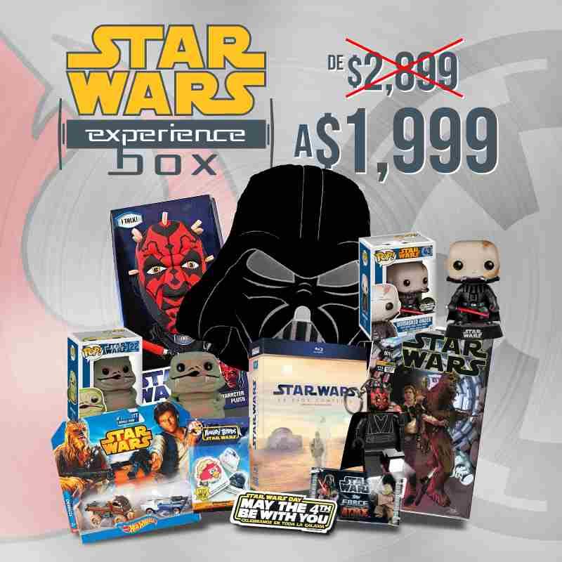 B Store: Star Wars Experience $999.95 (Coleccion Peliculas Blu Ray y Articulos varios)