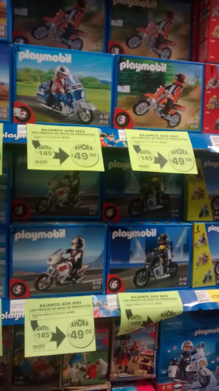 La Comer: playmobil figuras con descuento (varios) desde $49