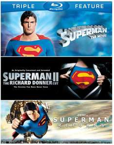 Amazon Mx: Trilogía Superman Edición Especial Blu-ray