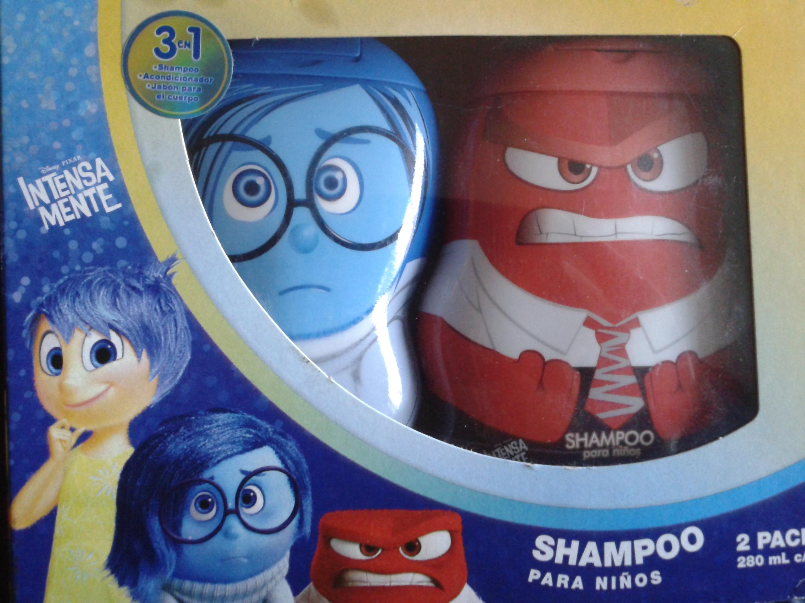 Walmart: 2pack de shampoo para niños de Intensamente $35.02, fibras Clorox a $5.02 , jabón líquido para manos $6.01