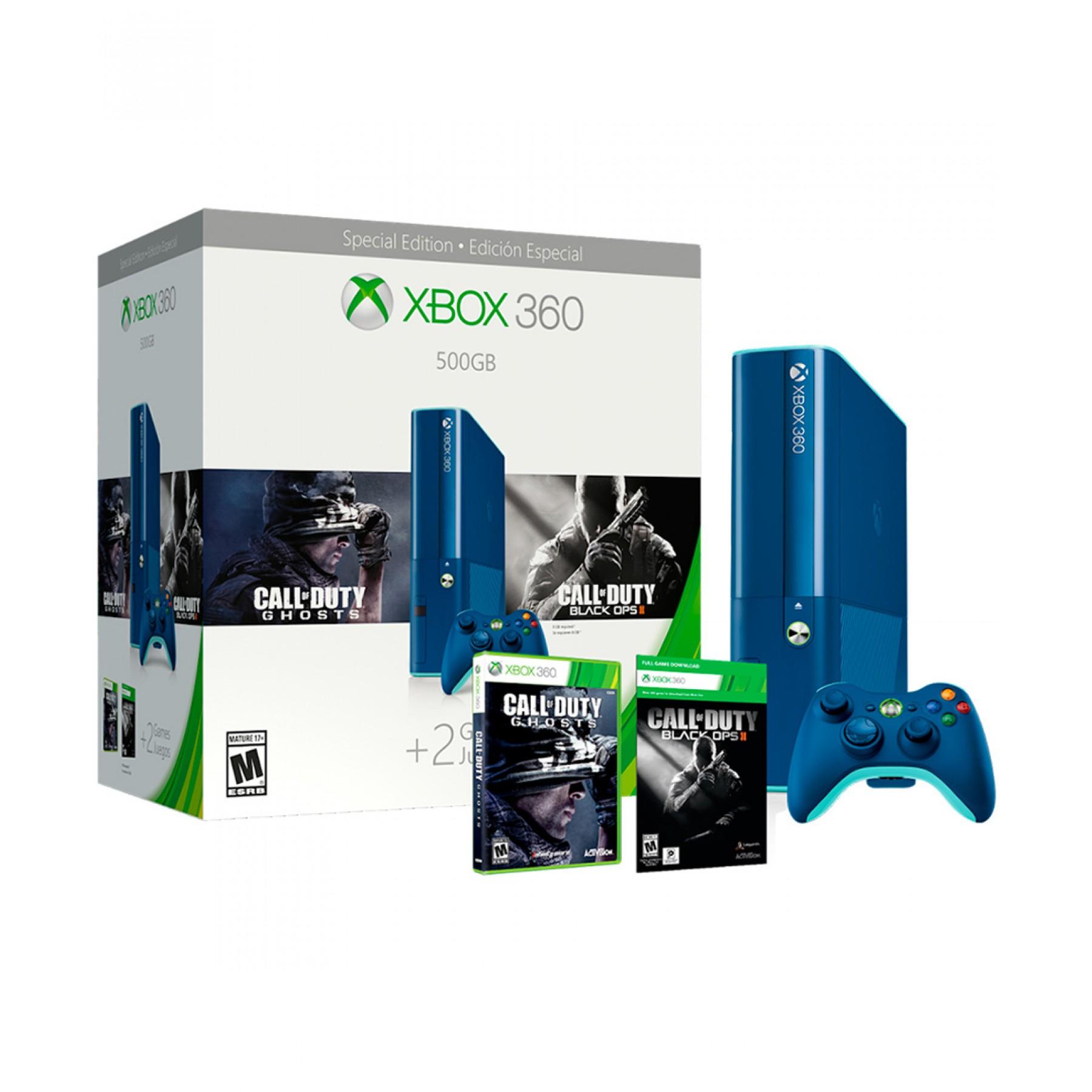 Palacio de Hierro: Consolas Xbox 360 500gb CoD y PS3 250GB