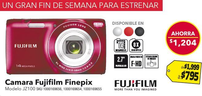 Best Buy: $4,000 en cupones comprando Galaxy SIII, cámara Fuji JZ100 $795 y más
