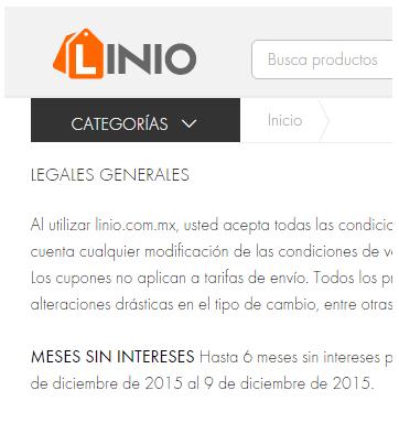 Linio - Cupones, Promociones, Cashbacks y más...!!