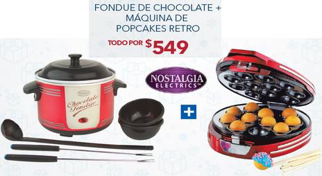 Best Buy: Paquete máquinas para hacer popcakes y derretir chocolate