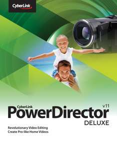 Programa para editar video CyberLink PowerDirector11 gratis